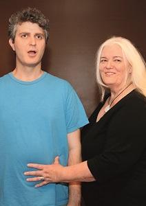Fitzmaurice and her son, voice coach Saul Kotzubei.